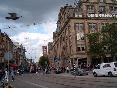 warenhuis de Bijenkorf in Amsterdam
