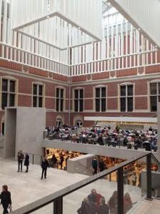 vernieuwde rijksmuseum. foto van amsterdam-hotels.redflag.info